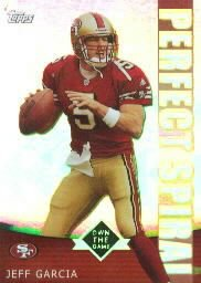 2001 Topps Own the Game #PS3 Jeff Garcia