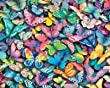 White Mountain Puzzles Butterflies - 1000 Piece Jigsaw Puzzle