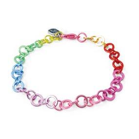 CHARM IT! Rainbow Chain Bracelet By High IntenCity