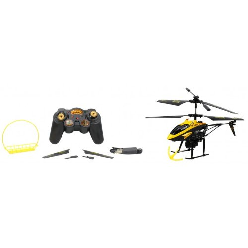 Hornet V388 Electric RC Helicopter GYRO 3.5CH Infrared w/ Hook, Basket RTF by Velocity Toys