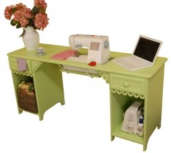 Olivia Sewing Table Finish: Pistachio