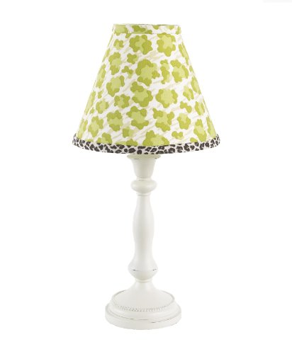 Cotton Tale Designs Standard Lamp and Shade, Here Kitty Kitty
