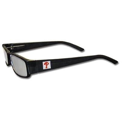 MLB Black Reading Glasses, +2.00, Philadelphia Phillies
