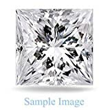 3.090 Carat - Princess Cut Loose Diamond, VS2 Clarity, E Color