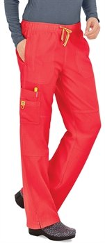 Wonderwink 5214 Women'S Sporty Cargo Pant Electric Violet Xx-Large Petite