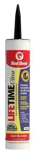 red-devil-077060-lifetime-ultra-premium-elastomeric-acrylic-latex-sealant-101-ounce-black