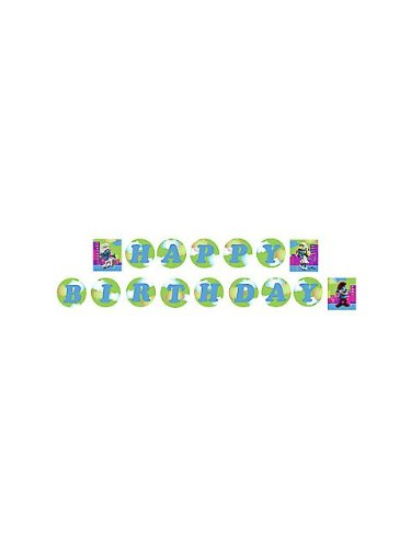 Hallmark Smurfs Plastic Banner - 1