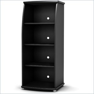 Image of South Shore South Shore City Life Audio Tower in Black (B0048A2JNO)