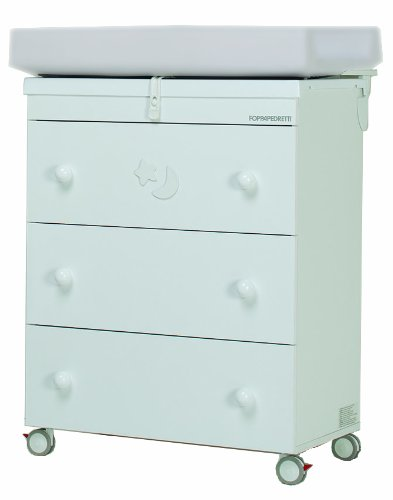 Foppapedretti Luccichino Changing/ Bathing Unit (White)