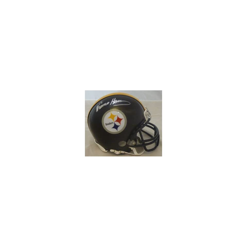 Franco Harris Signed Pittsburgh Steelers Mini Helmet
