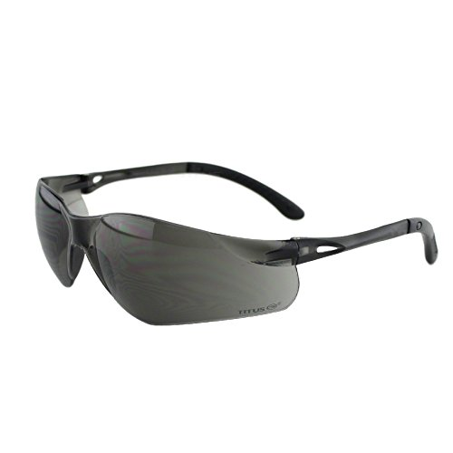 Titus G3 Dark Smoke - Sports Riders Safety Glasses (Standard, Standard) (Ga Bulldogs Sunglasses compare prices)