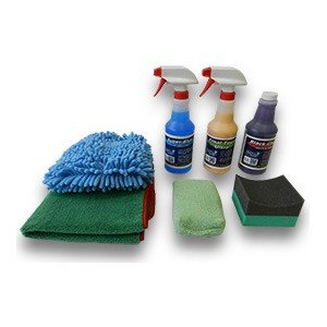 Detail King Car Care Deluxe Wash, Shine, & Tire Dressing Value Kit (Deluxe Auto Detail Kit compare prices)