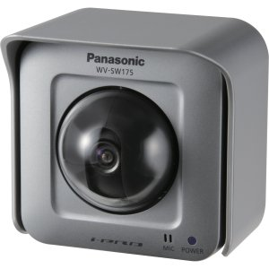 Panasonic WVSW175 H.264 Outdoor Pan and Tilt Network Camera for Surveillance Systems