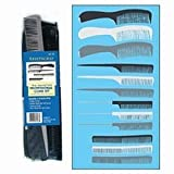 Aristocrat 12 Piece Plastic Comb Set