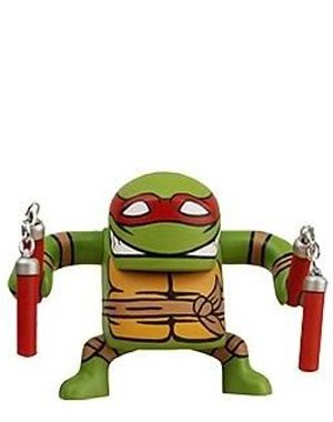 Picture of NECA Teenage Mutant Ninja Turtles Stylized Figure BATSU Michelangelo (B002XOAJA2) (TNMT Action Figures)