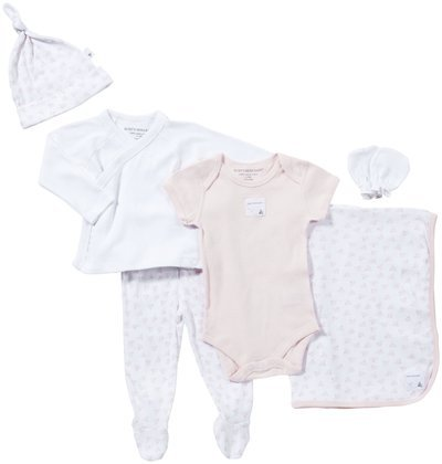 Burt's Bees Baby Baby Girls' Take Me Home Set (Baby) - Blossom - 3 Months