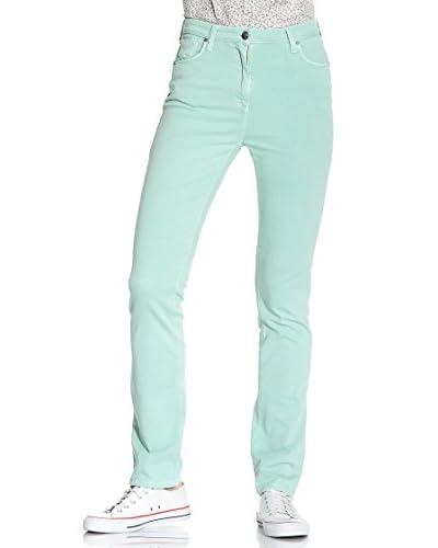 Carrera Jeans Pantalone Gabardine Stretch [Verde]