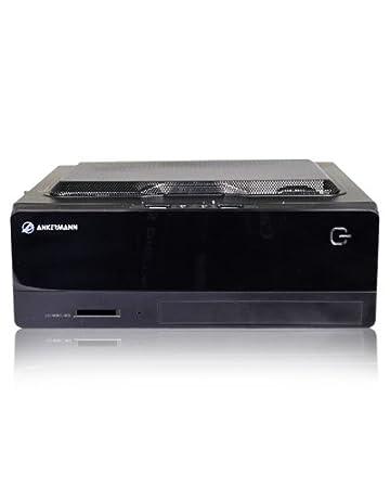 Ankermann-PC SSD Office Mini, AMD 5350 4x 2.05 GHz Très silencieux, très rapide, très économique 37 Watt max., onBoard ATI RADEON HD 8400D, 8 GB DDR3 RAM, Kingston SSDNow 120GB, DVD Writer, sans système d exploitation, E