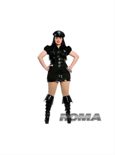 Dirty Cop Costume - XX-Large - Dress Size 12-14