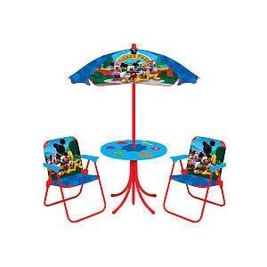 Childrens Garden Patio Outdoor TABLE CHAIR UMBRELLA SET - ShopWiki