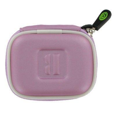 Pink Universal Bluetooth Headset Pouch Carrying Case For Jabra Bt125 Bt135 Bt160 Bt185 Bt2040 Bt3010 Bt350 Bt5010, Nokia Bh-900 Bh-803 Bh-800 Bh-703 Bh-700 Bh-602 Bh-302 Bh-211 Bh-202 Bh-208 Bh-201 Hs-26W, Blueant Z9 Z9I X3 V1 V12, Samsung Wep700 Wep500 W