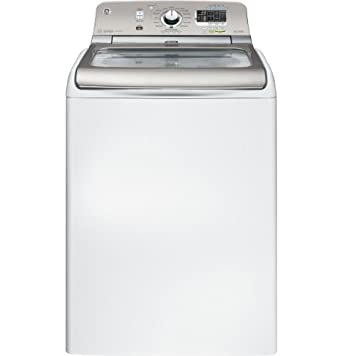 GE GTWS8450DWS 4.8 Cu. Ft. White With Steam Cycle Top Load Washer - Energy Star