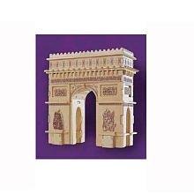 Puzzled, Inc. 3D Natural Wood Puzzle - Arch De Triomphe