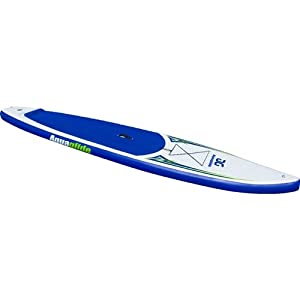 "Aquaglide Cascade 12'6"" Touring Inflatable SUP Board-White/Blue from Aquaglide"