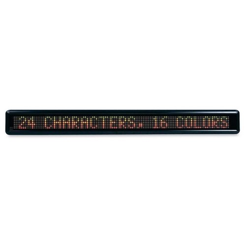 Led Electronic Moving Message Sign, 39 1/2 X 1 7/8 X 4 1/2