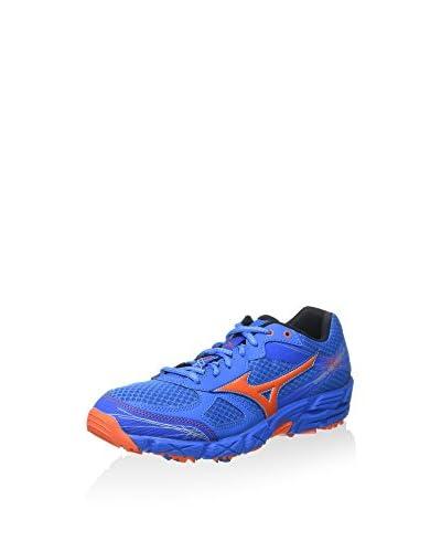 Mizuno Zapatillas de Running Wave Kien 2 Azul Índigo / Naranja