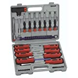 32 Piece Screwdriver Set with Nut Driver by Harbor Freight Tools