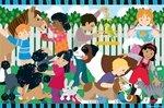Cheap Fun Melissa & Doug Backyard Pets Floor Puzzle 2'x3′ (B0018MMQUG)