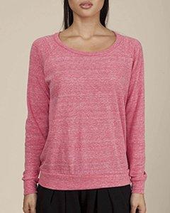 Alternative Women's Slouchy Pullover, Fuchsia, X-Large