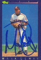 Mark Lewis Cleveland Indians 1992 Classic Autographed Hand Signed Trading Card. by Hall+of+Fame+Memorabilia