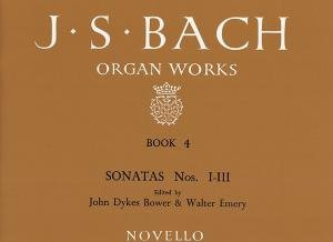Js Bach Organ Works Vol4 Novello from Music Sales