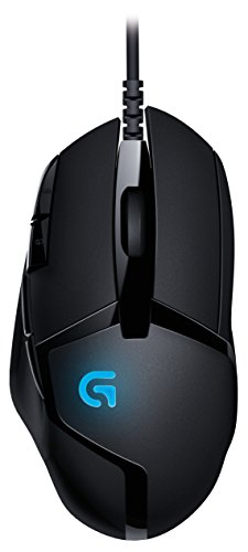 Logitech G402 Hyperion Fury FPS Gaming Mouse with High Speed Fusion Engine (910-004069)
