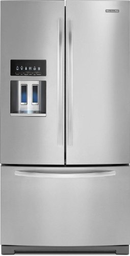 Kitchenaid Architect Series Ii Kfis29Bbms 36 28.6 Cu. Ft. French Door Refrigerator back-7295