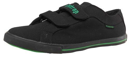 Firetrap Mens Menace Velcro Canvas Pumps Black/Green