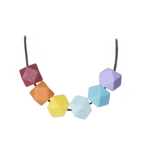 Jelly Strands Aurora Baby Teething Necklace Rainbow (Jelly Teething Necklace compare prices)