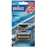 Braun 7000 Series Syncro Pro / Syncro Replacement Combo, Fits Braun Series 3 ~ Braun