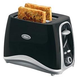 Oster 6332 Inspire 2-Slice Toaster, Black