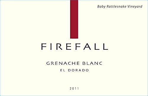 2011 Firefall El Dorado County Baby Rattlesnake Vineyard Grenache Blanc 750 Ml