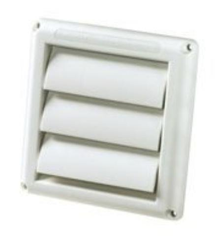DEFLECTO HS4W/18 Supurr-vent Replacement Vent Hood, Stainless Steel (Rv Dryer Vent Cover compare prices)