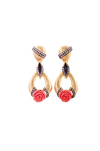 E-Designs Gold-Plated Dangle & Drop Women Gold (multicolor)
