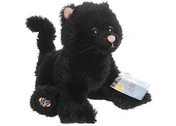 Webkinz Halloween Black Cat Limited Edition