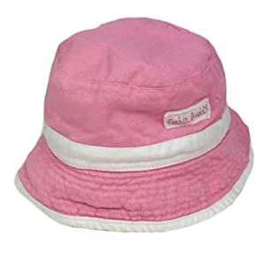 Youth Toddler Reversible Sun Bucket Hat Cap Girls Pink Camo White Fishin Buddy