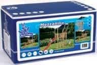 Cabane de Jeux exterieur Mezzanine kit consiste: dessin, fixation, 4 set manches, ancres et echelle et chiffon. Excl. sans bois, toboggan et net escalade 300x165x130cm