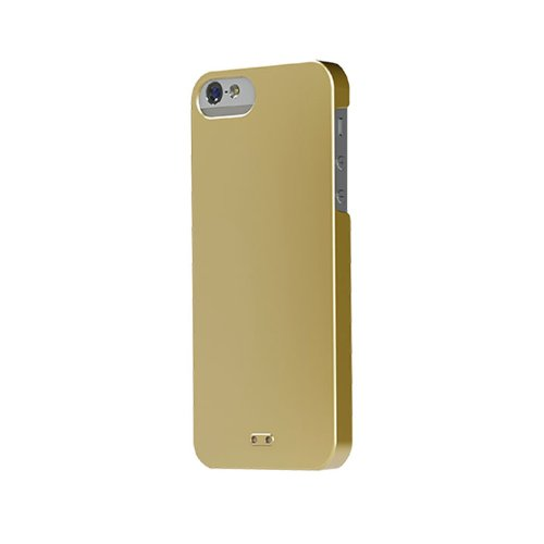 Tunewear IP5-EGG-SHELL-P02 EggShell for iPhone 5 - 1 Pack - Retail Packaging - Gold
