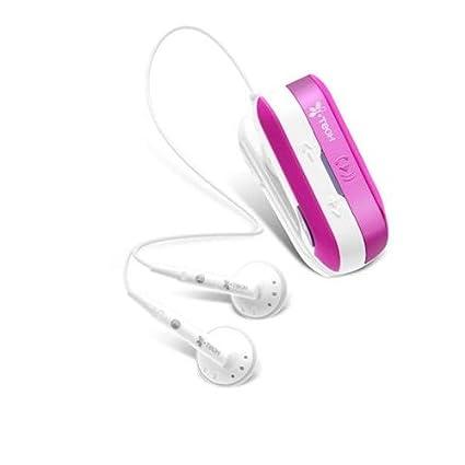 Casque st?r?o sans fil Bluetooth Nishiken ClipMusic 802i Blanc / Rose C51-B802-WP (japon importation)
