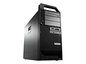 Lenovo SX713GE ThinkStation D30 Desktop-PC (Intel Xeon E5 2620 Dual-CPU, 2GHz, 8GB RAM, 1TB HDD, DVD, Win 7 Pro) schwarz